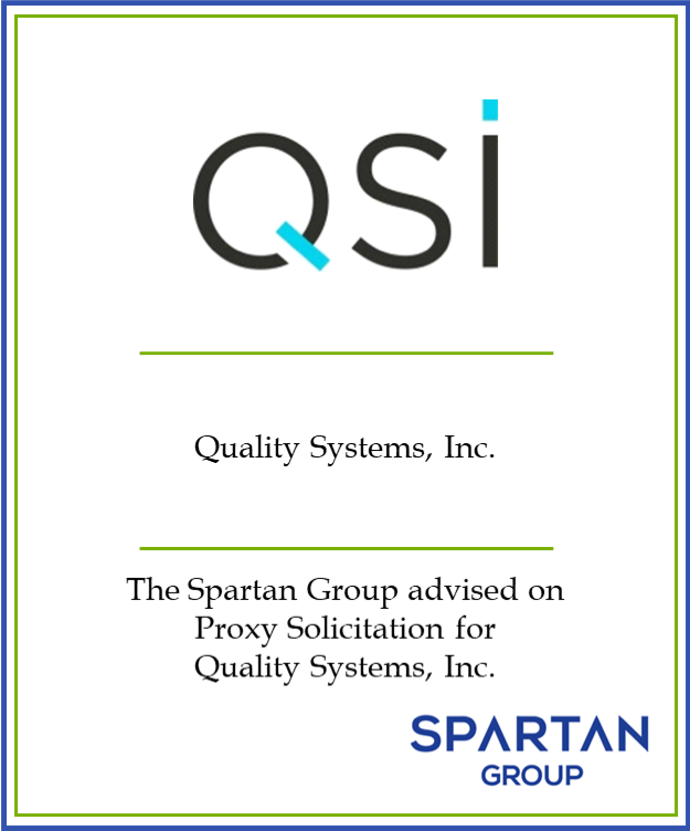 Quality Systems, Inc.